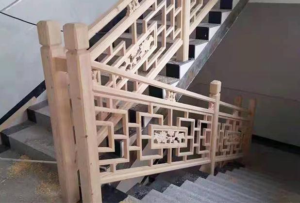 成都实木栏杆