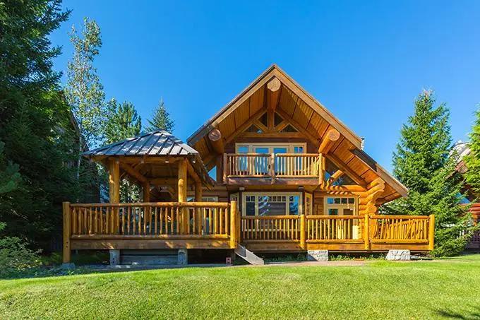 防腐木木屋能使用多久