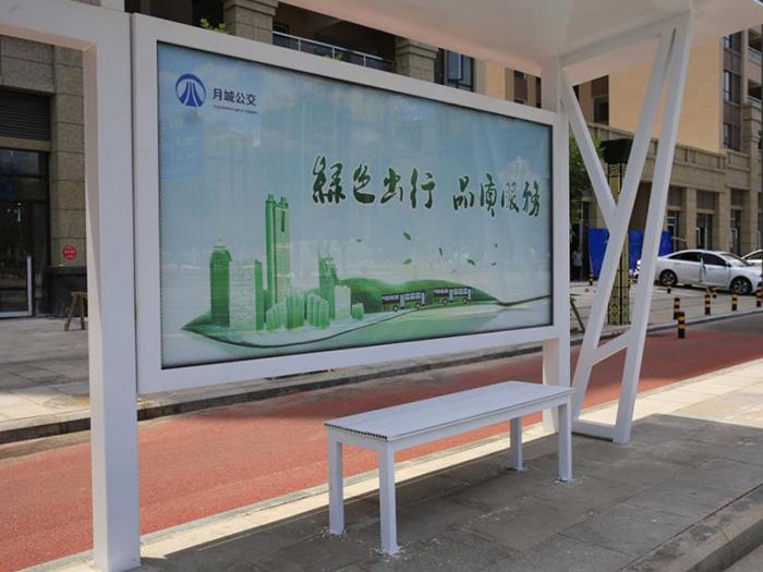 不锈钢公交站牌