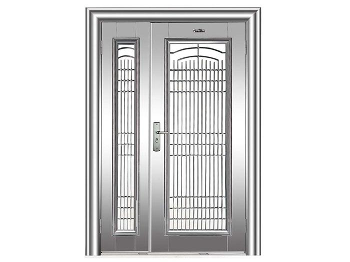 银川不锈钢门
