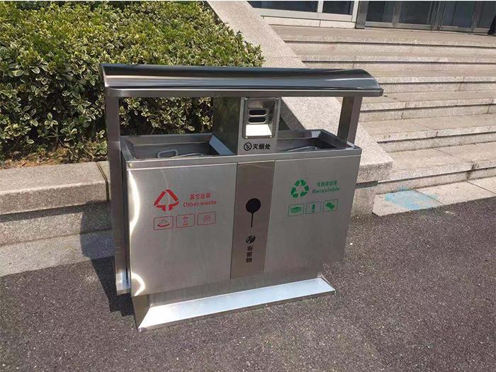 银川不锈钢垃圾桶