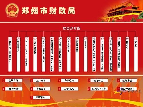 郑州市财政局与河南广告机厂家郑州卓之达电子科技有限公司达成合作