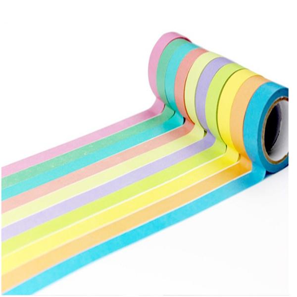 彩色和纸胶带