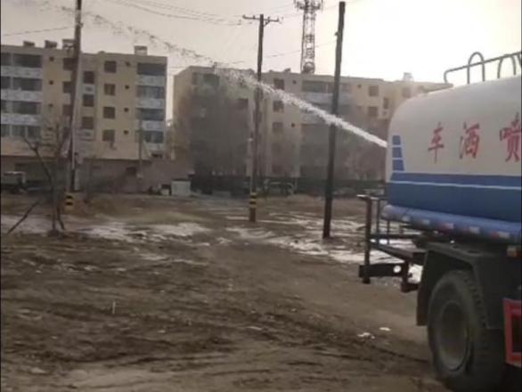 2021年3月25日肃北住建局向甘肃捷鼎新材科技有限公司采购抑尘剂2吨