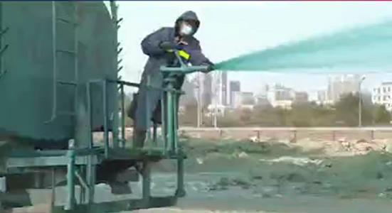 库尔勒城区抑尘剂施工