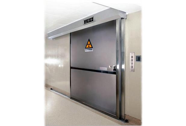 四川自动铅防护门安装成功案例