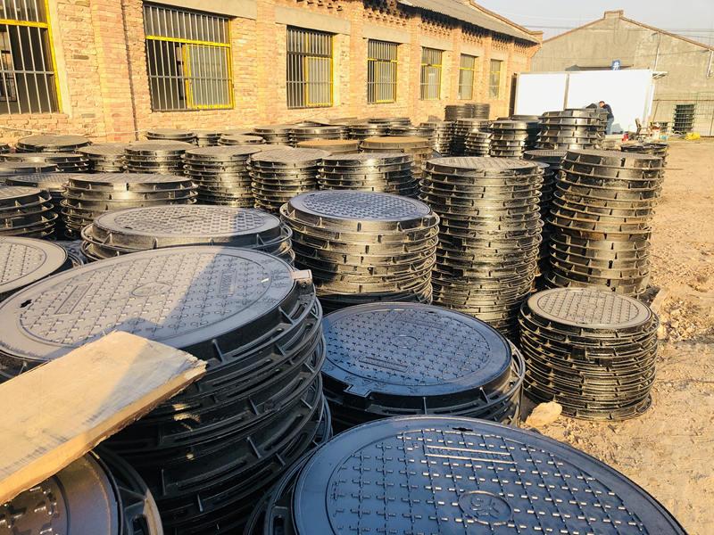 球墨井盖生产厂区
