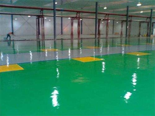 厂房环氧树脂地坪施工案例