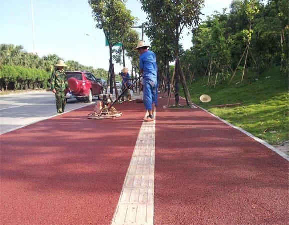 你了解彩色路面施工会用到的材料和目标吗?陕西混凝土厂来分享