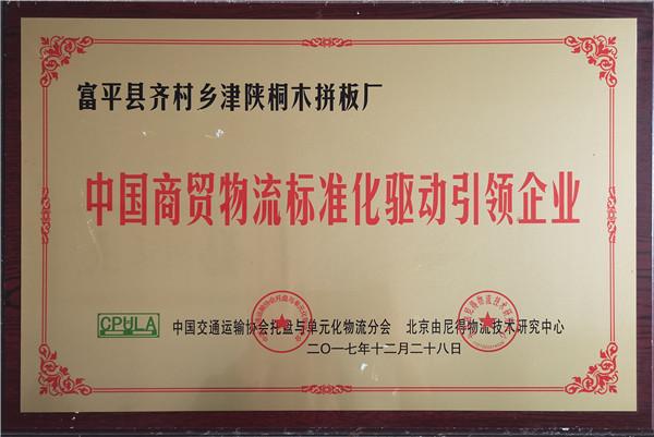 中国商贸物流标准化驱动引领企业