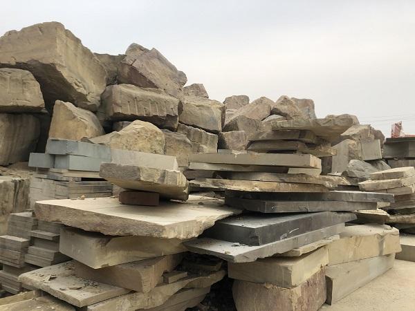 自贡黄砂石案例展示
