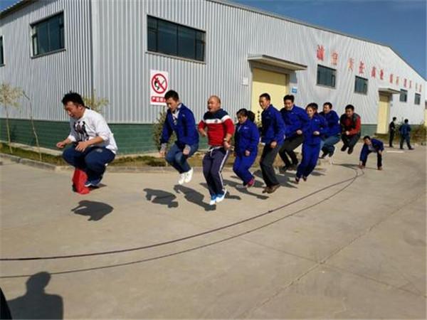 团队集体跳大绳活动