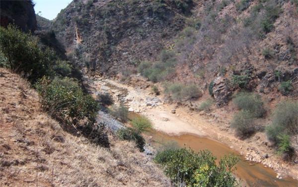 白乌河下麦地峡谷形态