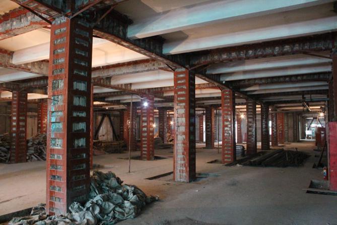 平凉框架结构加固施工