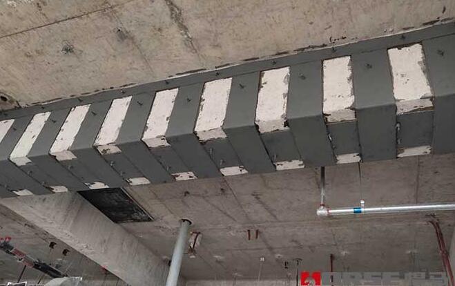 粘贴钢板加固方案的设计原理