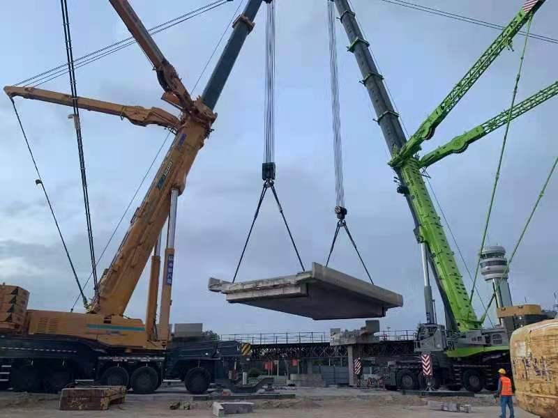 兰州新区桥梁切割工程