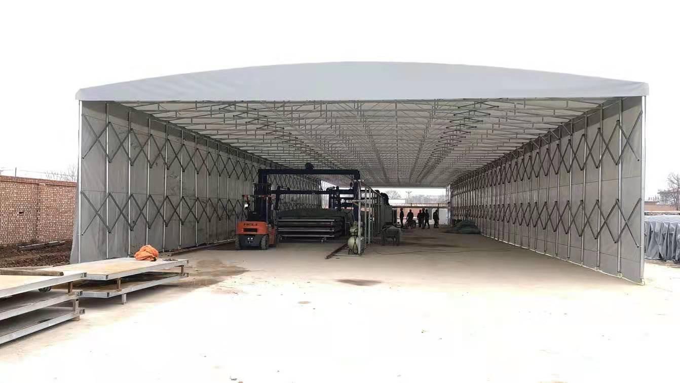 如何安装雨棚做到双重加固