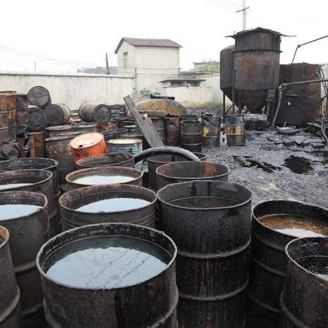 镇江废机油回收公司