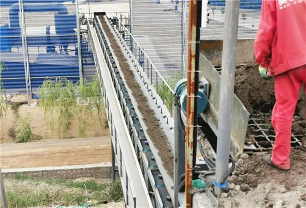 海蓝科技泥浆处理设备应用新疆泥浆处理站项目