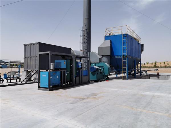 海蓝科技泥浆处理设备应用内蒙古乌审旗泥浆处理站项目