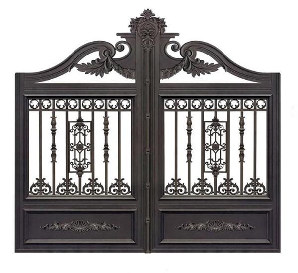 你知道为何说铝艺大门是别墅大门中比较容易安装的吗?