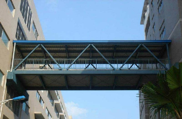榆林钢结构连廊施工