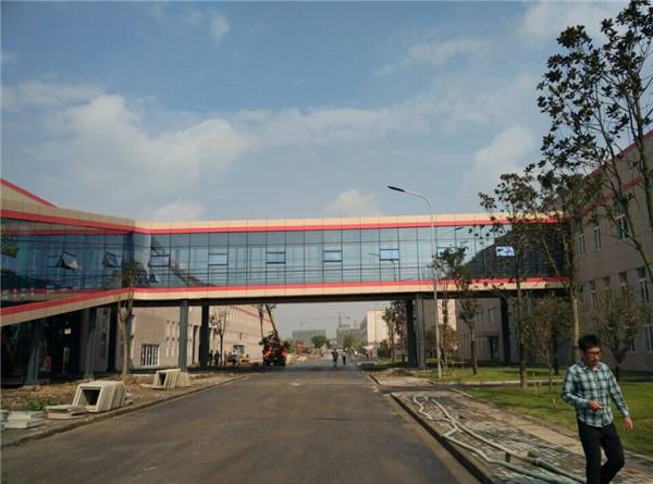榆林钢结构连廊生产