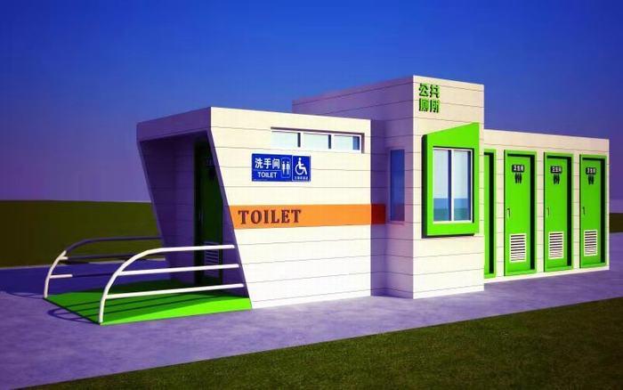 水循环生态移动厕所