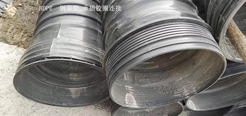陕西钢带增强螺旋波纹管生产