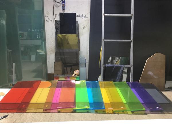 西安彩色夹胶玻璃