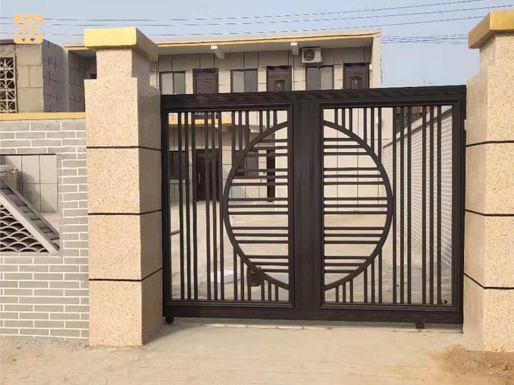 铝艺门厂家私人订制,铜门厂家免费设计出图