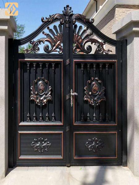 河南铝艺大门建筑设计者的构思是怎样的呢?