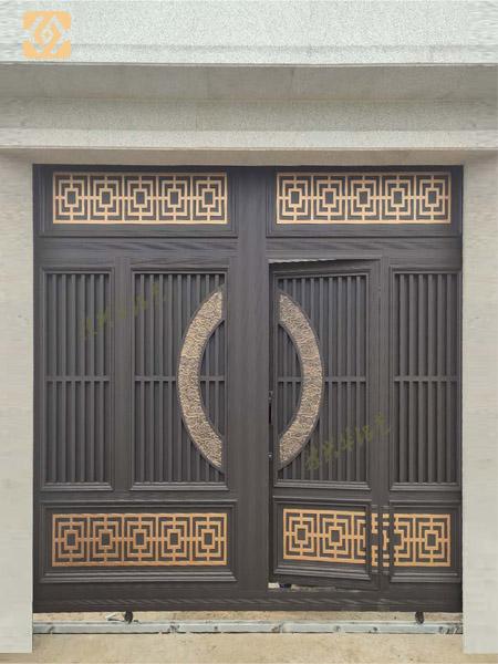 河南铝艺大门厂家为大家分享关于铝艺大门的优点