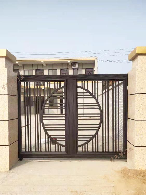 新中式铝艺门