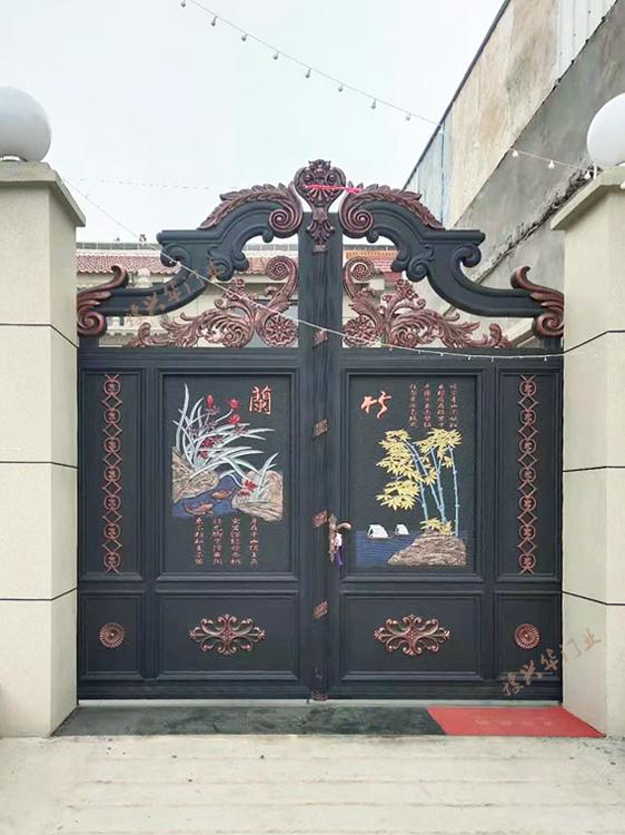 铸铝门高端别墅门