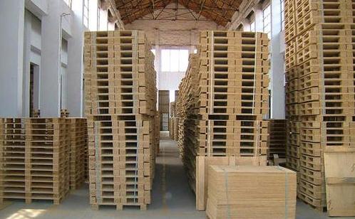木托盘厂区
