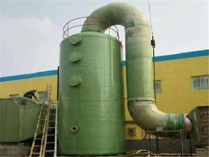新疆玻璃钢脱硫塔——脱硫设备