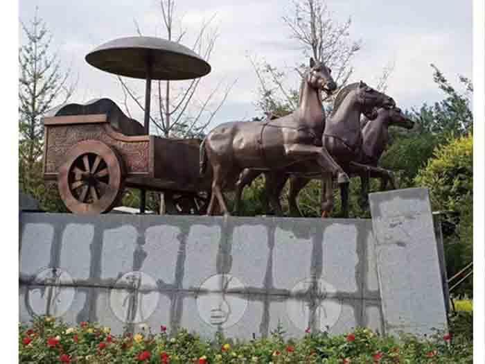 園林景觀不銹鋼雕塑