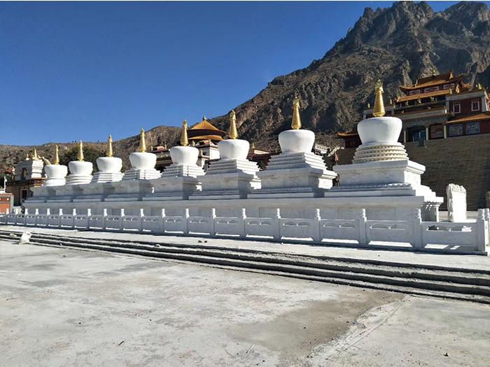 左旗南寺石雕案例