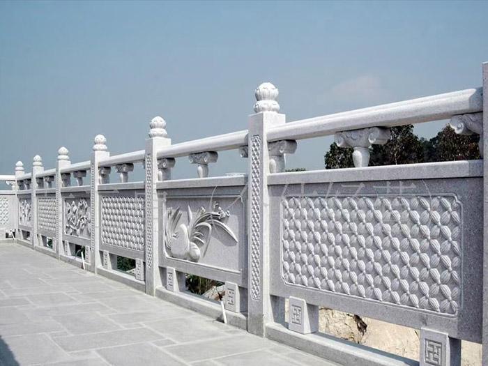 曲陽石欄桿的安裝方法及注意事項。
