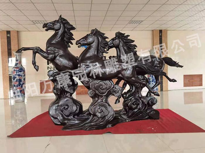 曲陽駿馬雕塑