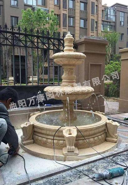 曲陽石雕噴泉雕塑的種類詳細介紹及分析