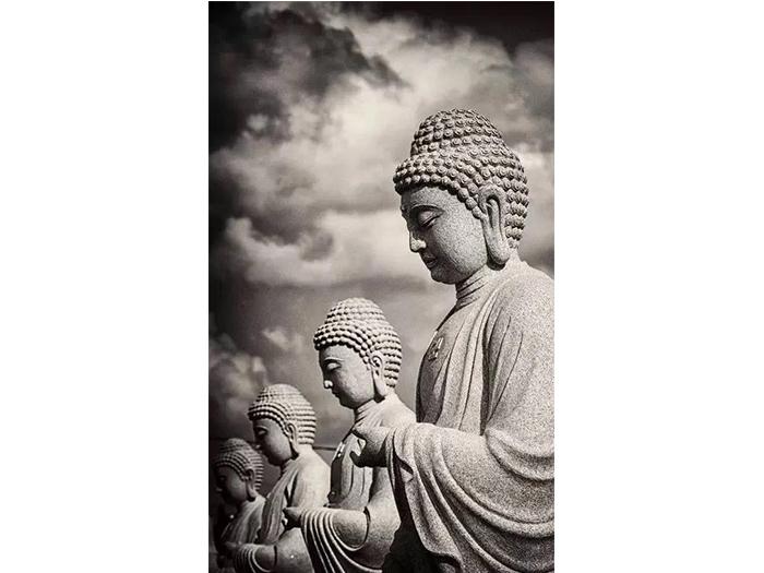 曲陽石雕廠家 石雕佛像的起源和作用