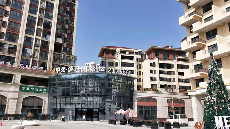 中交-滨江国际排烟风机安装案例