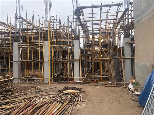 陕西建筑工地施工
