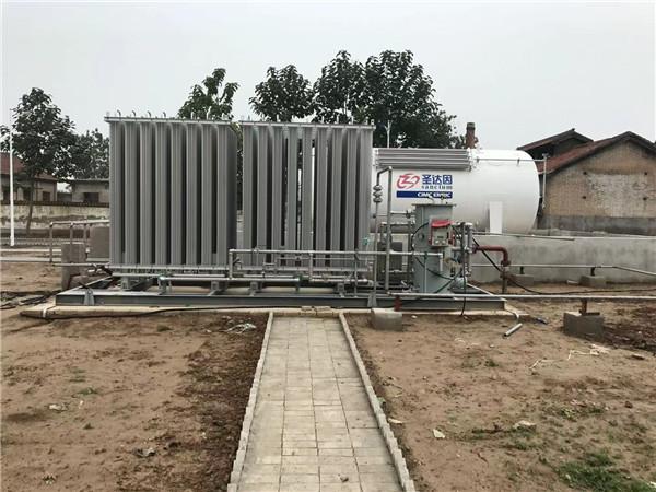 富平县中民燃气张桥站LNG气化安装工程