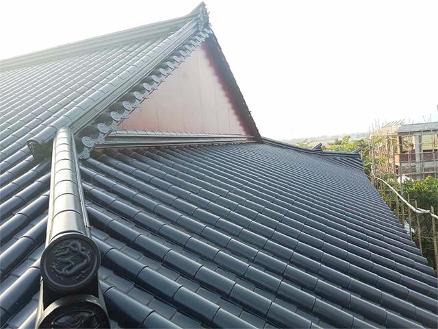 仿古金属瓦的优缺点在屋面上怎样鉴别铝瓦的优劣