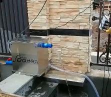 别墅小鱼池,安装赛德清鱼池过滤器SDQ.3T型号