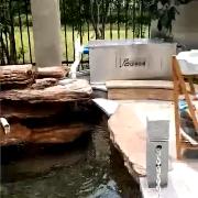 赛德清鱼池过滤器SDQ.45T型号,水质清澈见底!