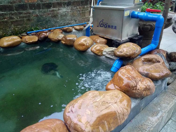 赛德清鱼池过滤器